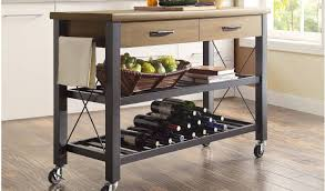 table rolling kitchen island also wonderful rolling kitchen