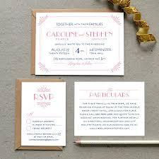 printable wedding invitation pdf u0027glamourous gatsby u0027 art deco