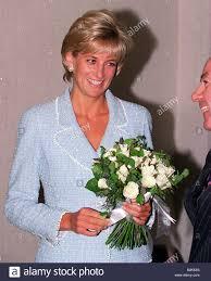 princess diana receives a bouquet of roses princess of wales rose