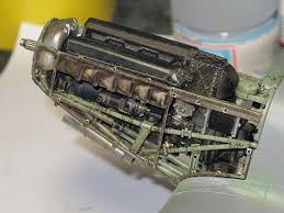 rolls royce merlin engine tamiya 1 32 spitfire mk ix photos by brett green and me static