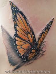 monarch butterfly design tats butterfly