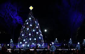 national tree lighting ceremony held on dc s ellipse