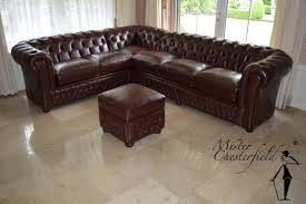 Corner Chesterfield Sofa by Chesterfield I New