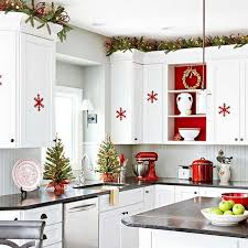 a christmas decoration in the kitchen here are 20 ideas to