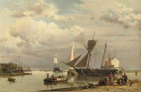 Two Master by File Hermanus Koekkoek Sr Near Groningen Loading The Two