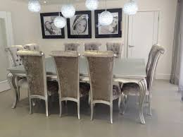 silver dining room black and silver dining room set classy design stylish design