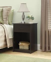 amazon com ameriwood home core nightstand espresso kitchen u0026 dining