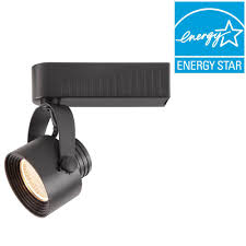 Black Track Lighting Fixtures by Hampton Bay Black Dimmable Led Gimbal Track Lighting Fixture 1015