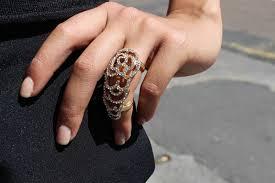 knuckle finger rings images Crystal knuckle finger ring i am adored uk JPG