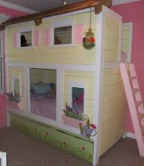 Castle Bunk Beds For Girls by Cody Has Already Enclosed Allie U0027s Bunk Bed And Turned The Top Into