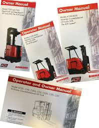 raymond lift truck manuals u2013 materials handling store by raymond