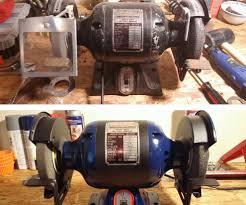 bench grinder restoration 11 steps