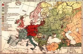 Europe Language Map