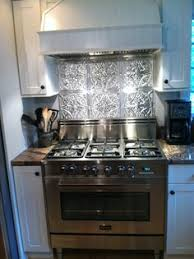 tin tiles for kitchen backsplash sted metal backsplash kitchen tin tile