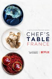 3 fr cuisine chef s table poster for the upcoming netflix series
