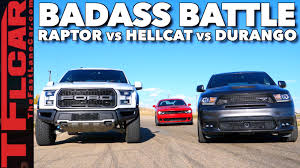 Dodge Durango Srt - can 70 000 of all wheel drive beat a hellcat ford raptor vs