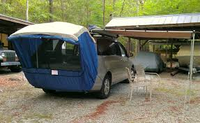 Diy Roof Rack Awning The Grove Guy Minivan Conversion