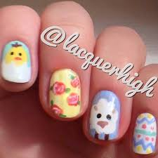 73 best easter nails images on pinterest nail nail easter nail