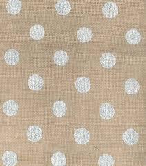 Ivory Burlap Curtains Utility Fabric Metallic Dot Burlap Silver Burlap And Fabrics