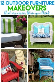 Can You Paint Wicker Chairs 12 Outdoor Furniture Makeovers Easier Than You Think