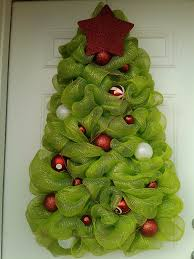 large christmas tree wreath deco mesh christmas tree wreath