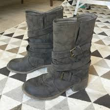 dirty riding boots dirty laundry shoes dirty laundry brand buckle mid boots poshmark