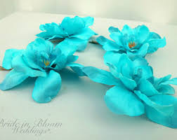 turquoise flowers turquoise flowers etsy