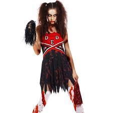Zombie Cheerleader Creepy Horror Zombie Party Halloween Costumes Maboobie U2013 Page 7