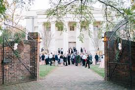 wedding venues in augusta ga timeless wedding at the college in augusta ga