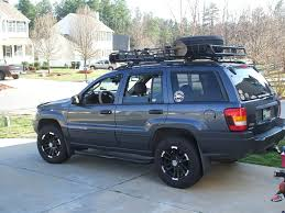 jeep wj roof lights roof rack sizing page 2