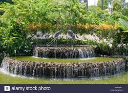 Botanical Gardens In Singapore by Singapore Botanic Gardens Singapore Southeast Asia Asia Stock
