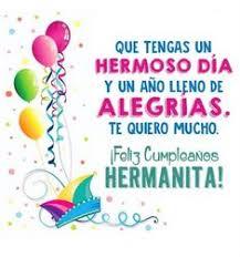 imagenes hermana querida feliz cumpleaños buenos deseos tarjeta cumpleanos hermana querida frases
