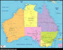 map od australia map of australia major tourist attractions maps
