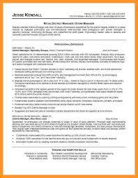 sample retail store manager resume sample resume for retail store manager retail store manager