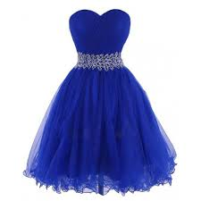 royal blue dress cheap sweetheart knee length royal blue homecoing dress with