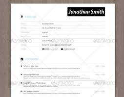 Unique Resume Templates Free Word 28 Minimal U0026 Creative Resume Templates Psd Word U0026 Ai Free