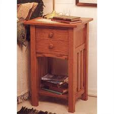 Build A End Table Plans by Downloadable Woodworking Project Plan To Build Arts And Crafts End