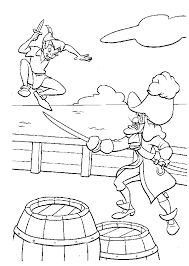 coloring page alluring peter pan colouring 42 coloring page