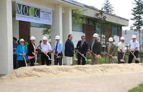 new library ground breaking town of stoughton ma