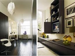 Contemporary Home Office With Devon  Light Drum Pendant By - Contemporary home interior design ideas