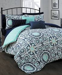 Dahlia 5 Piece Comforter And by Look What I Found On Zulily Navy Leona 10 Piece Comforter Set By