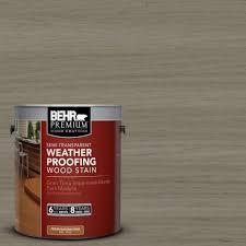 Home Depot Behr Stain by Behr Premium 1 Gal St 154 Chatham Fog Semi Transparent
