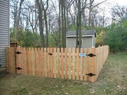 backyard dog ear fence boards dog ear fence boards is popular