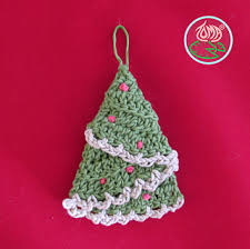 ravelry tree hanging ornaments 4 sizes pattern by