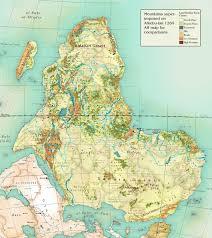 Kalahari Desert Map Alkebu Lan 1260 Ah U2014 Nikolaj Cyon