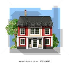 2 Stories House Villa Clipart 2 Story House Pencil And In Color Villa Clipart 2