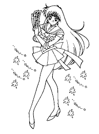 sailor moon coloring pages free mamie u0027s projects