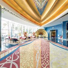 Interior Of Burj Al Arab Jumeirah Inside 360 Degrees Of Luxury