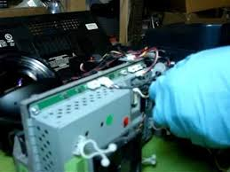 light engine for mitsubishi tv replacing dlp chip on a mitsubishi dlp tv for white dots issues
