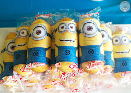 minions birthday party cookie cupcakes